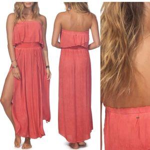 Rip Curl Beach strapless maxi dress